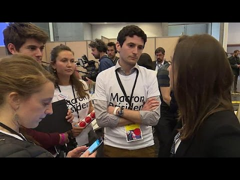 Οι εθελοντές η κινητήριος δύναμη της εκστρατείας Μακρόν