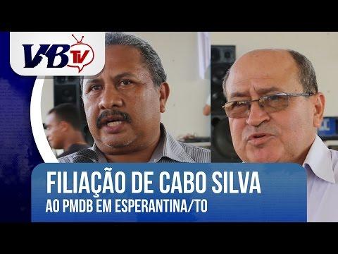 VBTv | Cabo Silva filia-se ao PMDB e é pré-candidato à prefeitura de Esperantina