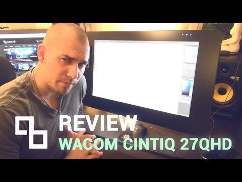 Wacom CINTIQ 27 QHD Touch REVIEW