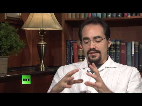 peter - TO HEAR AUDIO CORRECTLY TURN ON STEREO AND BOTH SPEAKERS. Abby Martin speaks with Peter Joseph, founder to the Zeitgeist Movement about the philosophy behind...