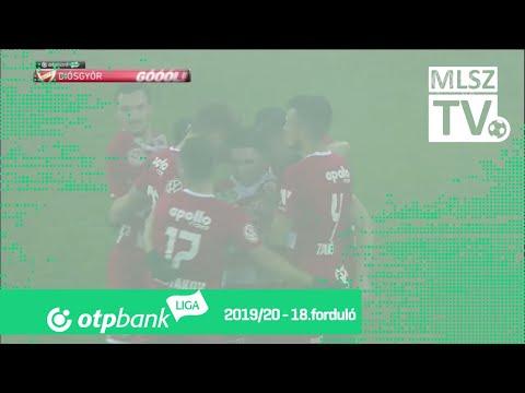 18. forduló: DVTK - Kaposvár 2-0 (2-0)