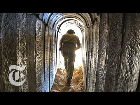 Israel - An underground look at Hamas's tunnels into Israel. Produced by: Carrie Halperin and Sofia Perpetua Read the story here: http://nyti.ms/1tBhYX7 Subscribe to the Times Video newsletter for...