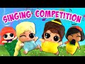 Download Lagu LOL Surprise Dolls Lil Sisters Disney Princess Play-Doh Dress Up Contest Part 2 | LOL Dolls Families Mp3 Free