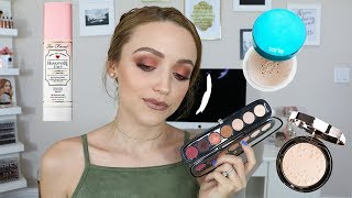 Chatty Get Ready   TRYING NEW MAKEUP!