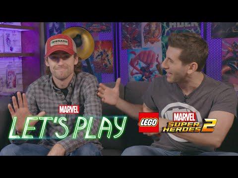 NASCAR Star Ryan Blaney   Marvel Let's Play