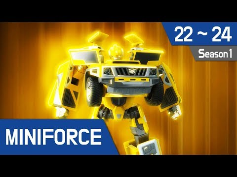 Miniforce Season 1 Ep 22~24
