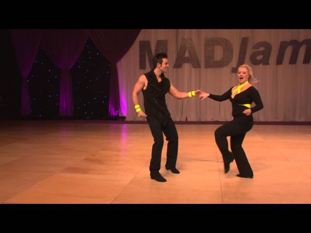 Mid Atlantic Dance Jam (MADjam) 2013  Jordan Frisbee & Tatiana Mollmann-Bennett