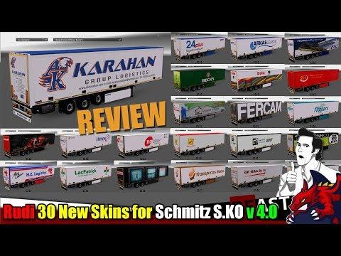 Rudi 30 New Skins for Schmitz S.KO v4.0
