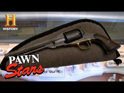 Pawn Stars: LOW APPRAISAL FOR CIVIL WAR NAVY PISTOL (Season 11) | History