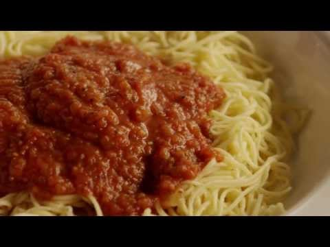 Pasta Recipes – How to Make Quick Spaghetti Sauce