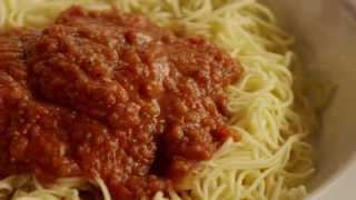 Pasta Recipes - How To Make Quick Spaghetti Sauce