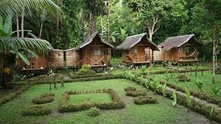 Loboc Philippines  city photo : Nipa Hut Village at Loboc River, Philippines