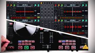 BEHRINGER VIDEO MANUAL: CMD Studio 4a Pitch Faders