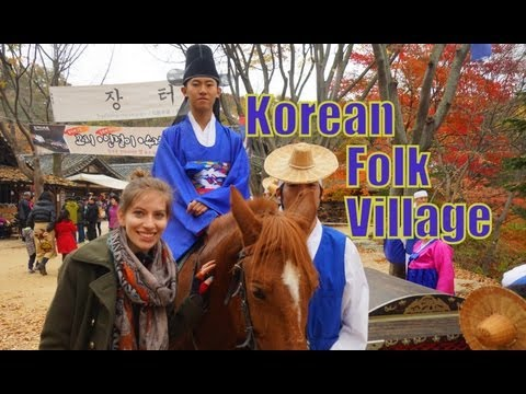 Things to do at the Korean Folk Village in Yongin, Korea