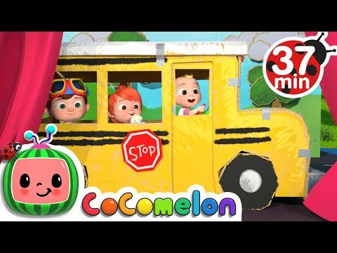 Wheels on the Bus 2   +More Nursery Rhymes & Kids Songs - CoCoMelon - Thời lượng: 37:30.