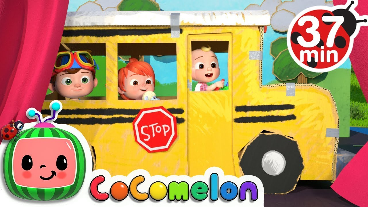 Wheels on the Bus 2 | +More Nursery Rhymes & Kids Songs - CoCoMelon - YouTube