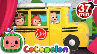 Video Wheels on the Bus 2 | +More Nursery Rhymes & Kids Songs - CoCoMelon MP3, 3GP, MP4, WEBM, AVI, FLV Juni 2019