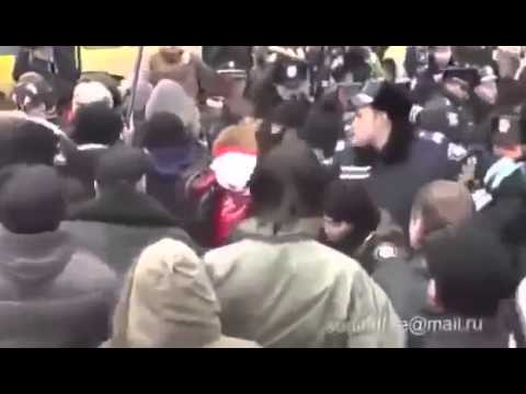 опять провокации в Севастополе (видео)