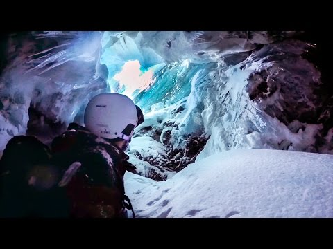 Scary GoPro POV Footage of a Skier Falling Nearly 60 Feet Into a Huge