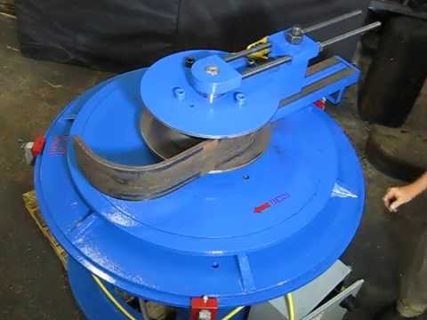 Plate Bender for HSS Steel Plate for Truck Bumpers