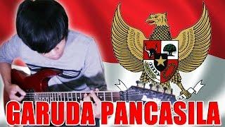 Lagu Garuda Pancasila Versi Metal Gitar Cover By Mr. Jom
