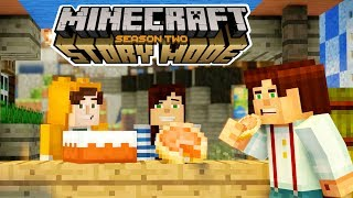 STAMPY CAT AND STACYPLAYS!!!! | Minecraft : Story Mode Season 2 | Episode 1 [1]