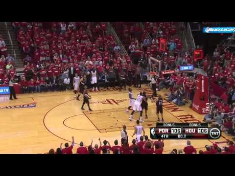 NBA Highlights: Blazers @ Rockets Game 1 4/20/2014