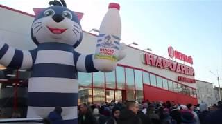 Усть-Кут. Открытие нового супермаркета.
