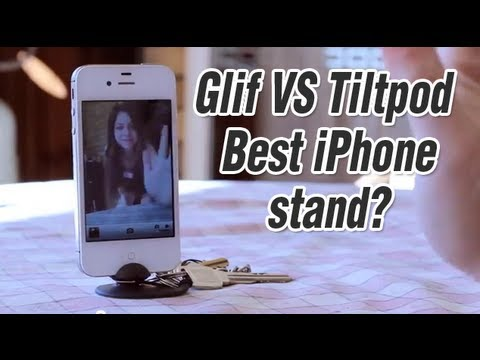 glif - The Glif and the Tiltpod are my two favourite iPhone Stands, they both hold your iPhone well but each are definitely for different situations. The Glif is ac...