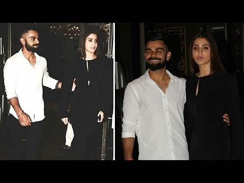 Anushka Sharma Virat Kohli Walk Hand In Hand At Za