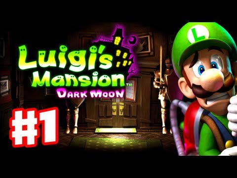 Luigi's Mansion - Thanks for every Like and Favorite! They really help! This is Part 1 of the Luigi's Mansion Dark Moon Gameplay Walkthrough for the Nintendo 3DS! It includes ...