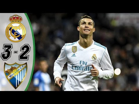 Real Madrid vs Malaga {3 2} ● All Goals & Highlights HD ●  25 Nov 2017