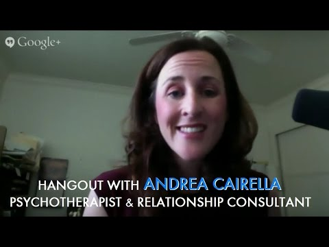 Hangout with Andrea Cairella – Psychotherapist and Relationship Consultant
