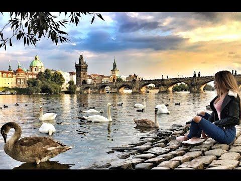 Влог: Сказочный город Прага, Пиво, Еда, обзор супермаркета онлайн видео