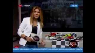 Burcu Burkut Erenkul - TRT Haber - Süper Spor - 2012