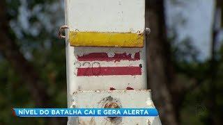 Calor intenso faz nível do Rio Bauru cair e situação preocupa autoridades