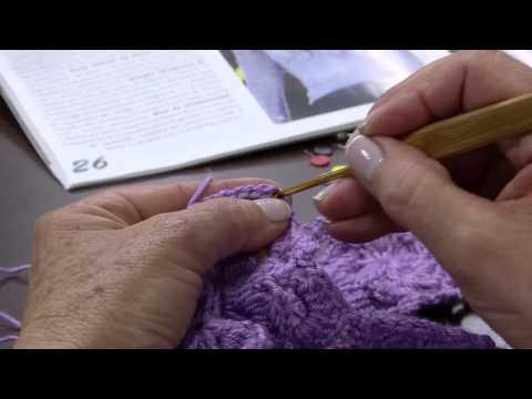 Mulher.com 19/08/2014 - Blusa Croche Flor Vitrine por Claudia Maria - Parte 2
