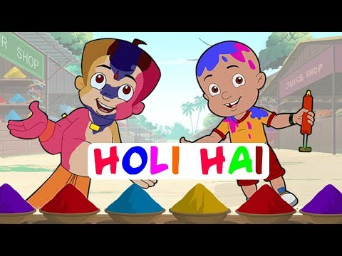 Video Khelenge Hum Holi - Special Video with Chhota Bheem, Mighty Raju & Krishna Balram download in MP3, 3GP, MP4, WEBM, AVI, FLV January 2017
