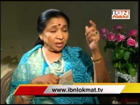 IBN Lokmat special with Asha Bhosle and Shridhar Phadke seg 3