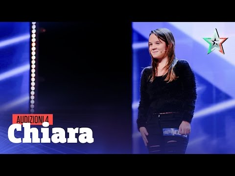 chiara contro la mafia - italia's got talent