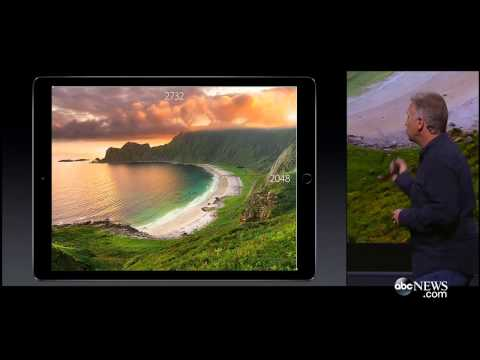 iPad Pro 2015 | Tim Cook Presents New iPad