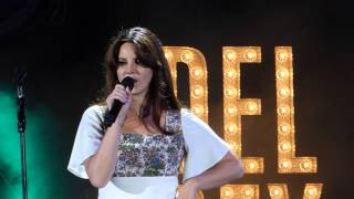 Lana Del Rey - Off To The Races LIVE HD (2015) Hollywood Bowl Los Angeles