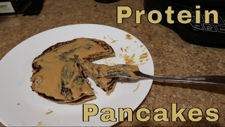 How To Make Protein Pancakes   Macros in Description