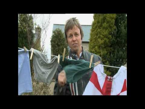 Jockey retro y-front men's underwear on BBC One show