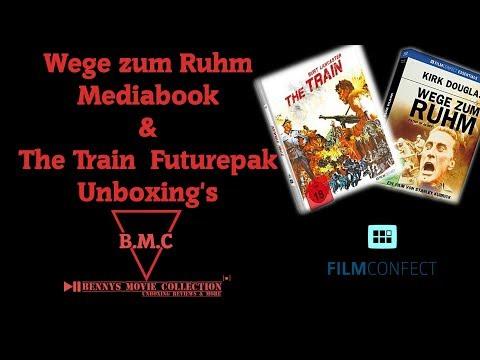 Wege zum Ruhm Mediabook & The Train Futurepak Unboxings / Filmconfect