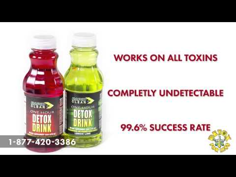 Pass your Urine Test Rapid Clear Detox Drinks