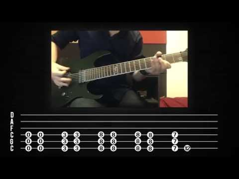 Three days grace just like you guitar tab in b minor - download