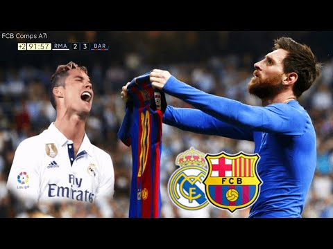 Real Madrid vs Barcelona Full Match English Commentary HD Liga Santander (23/04/2017)