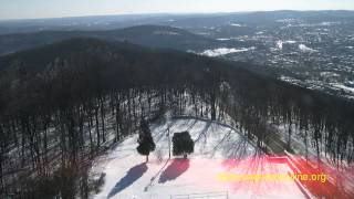 Wm Penn Memorial Fire Tower Camera 1 Timelapse February 4