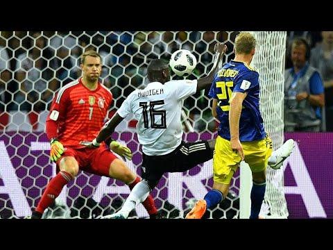 Fußball-WM: 2 : 1 gegen Schweden - Kroos mit Last-Min ...